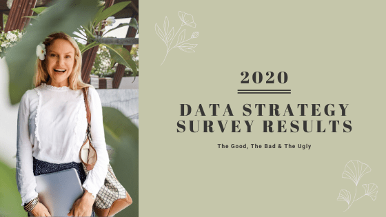 Come see the results of our data strategy survey