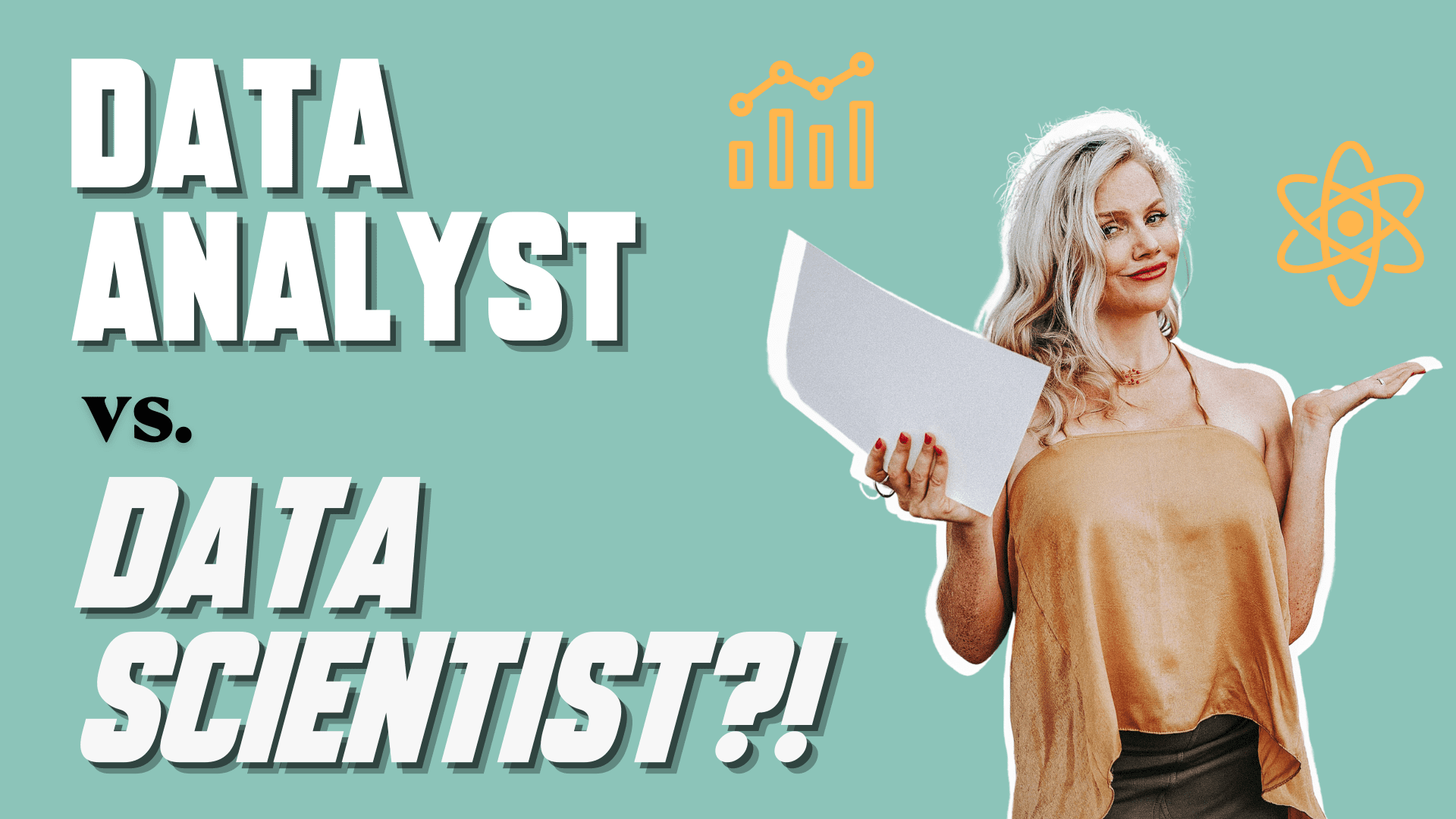 Wondering if you should become a data analyst or a data scienctist?