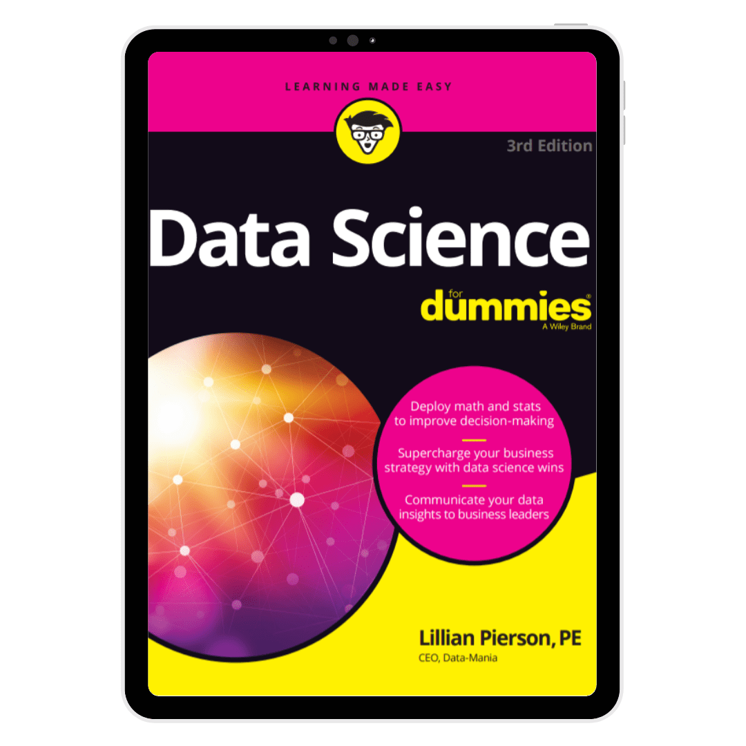 Data Science for Dummies - Third Edition