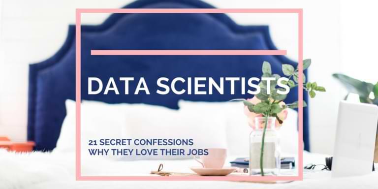 the data scientist confession