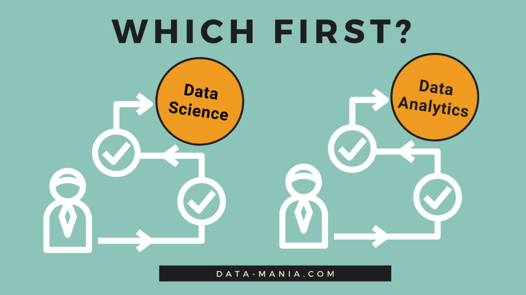 the difference between data science and analytics