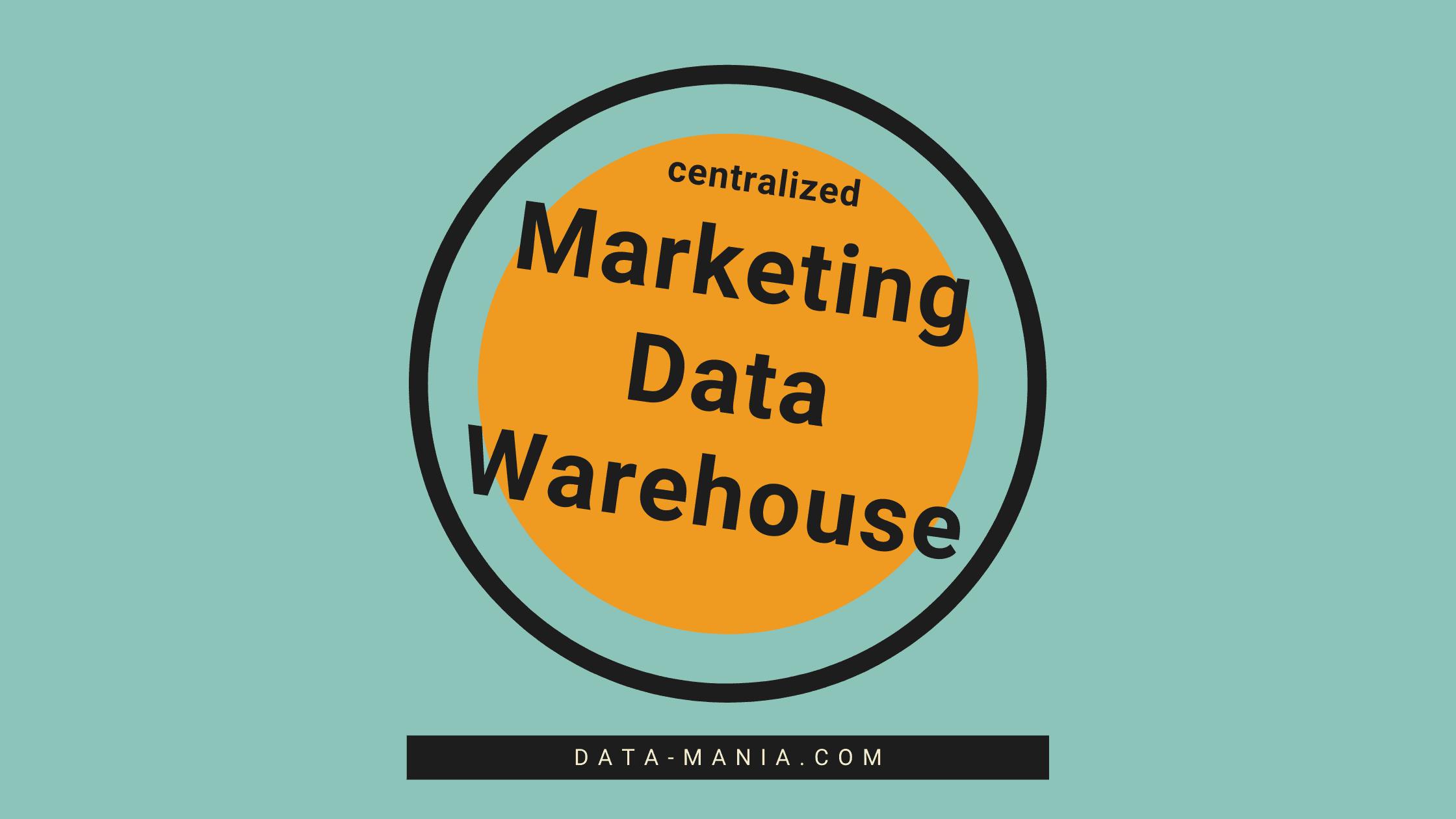 Centralized Marketing Data Warehouse