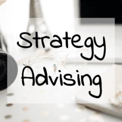 Strategy & Advising